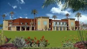S2-04 Proposed UFL Training Facility Rendering - Casa Grande, Arizona