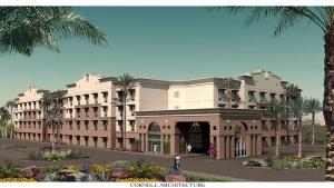 S2-08 Proposed Resort Hotel Rendering - Phoenix, Arizona