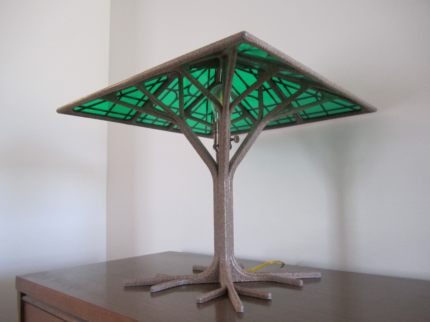 01 Gee-om-a-Tree - 3D Printed Lamp