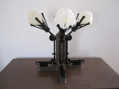 04 Mechanical-Botanical - 3D Printed Lamp