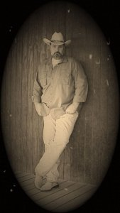 Sepia Photo of Old Time Greg by Greg Cornell, Architect