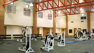 S2-03 Fitness Center Interior of UFL Training Facility