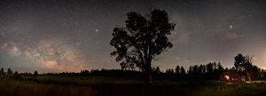 Slider 01-02 Panoramic Night Sky in Northern Arizona